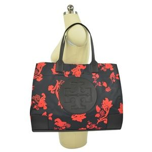 NWT Tory Burch Large ELLA Black Mountain Paisley